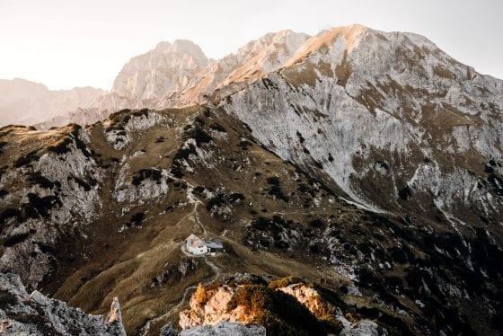 Hoch am Berg
