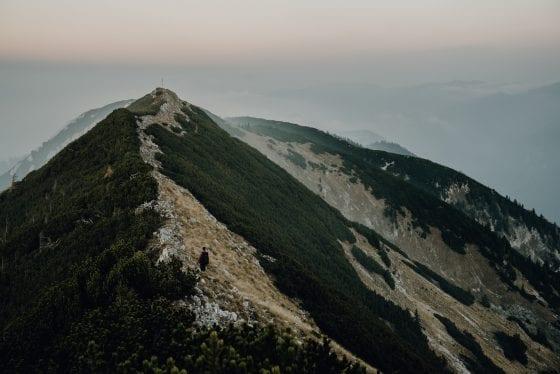 Bergbild - Etappe 9